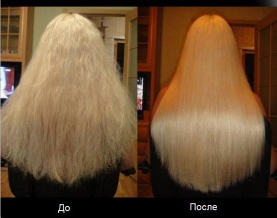 Как выровнять волос в домашних условиях видео