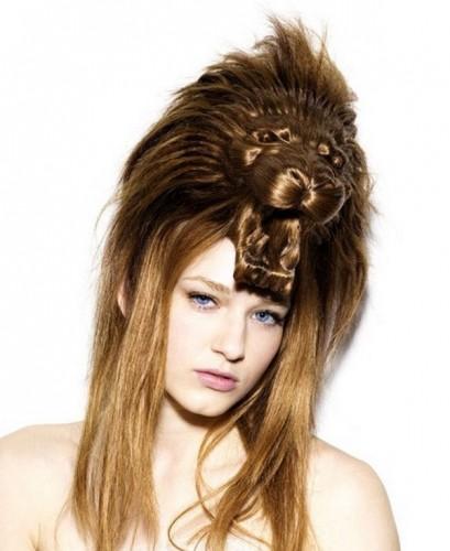 Необычные прически на длинные волосы