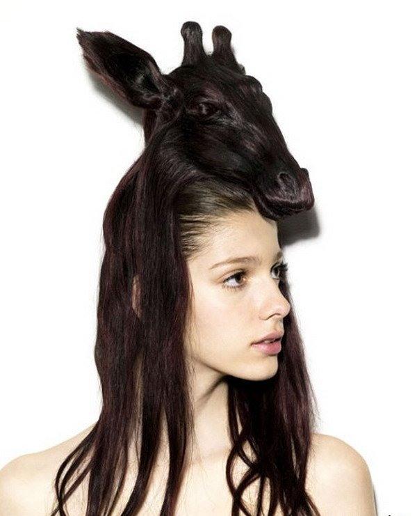 Стрижки необычные на длинные волосы