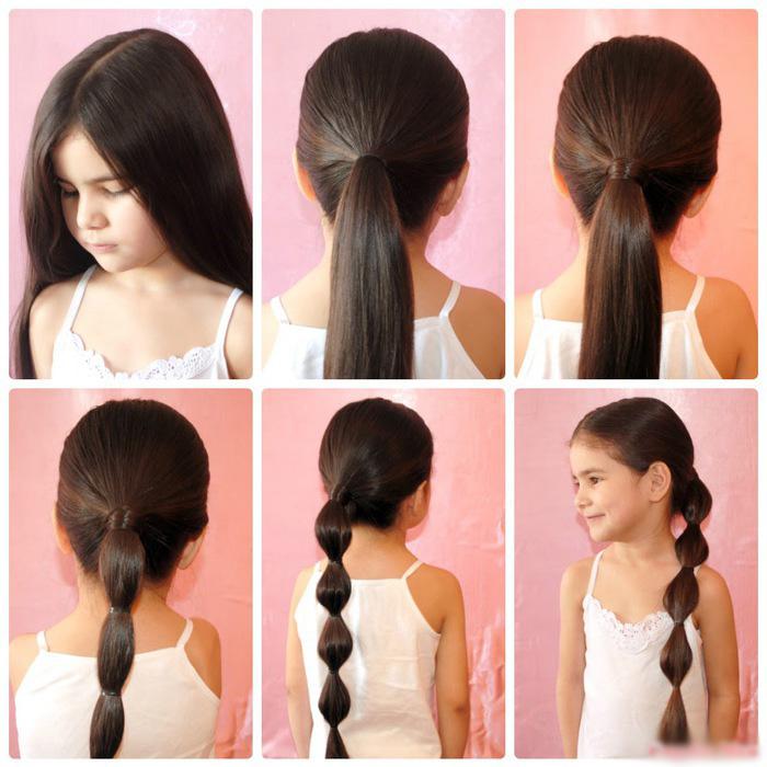 прически для школы на средние волосы
