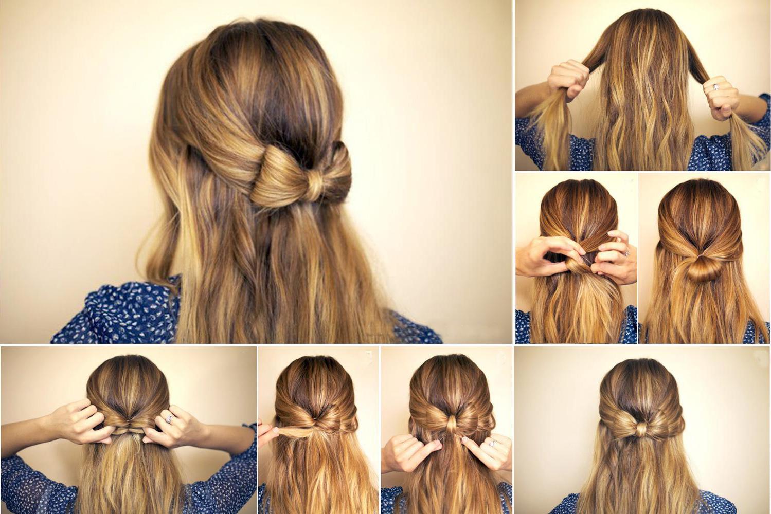 зачіски пучок фото