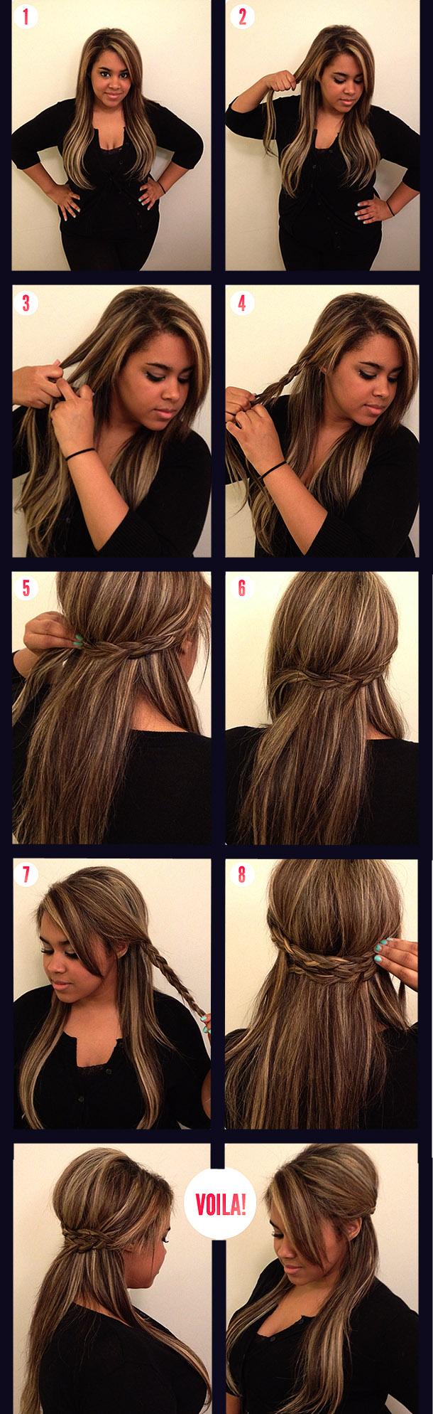 Прическа своими руками на тонкие волосы средней длины