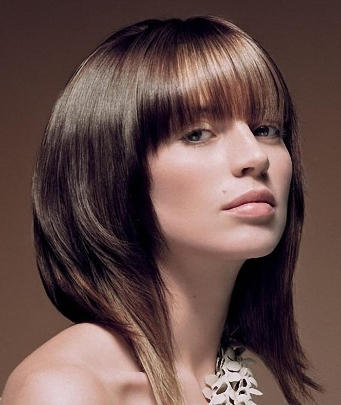 Красивые причёски на средние волосы