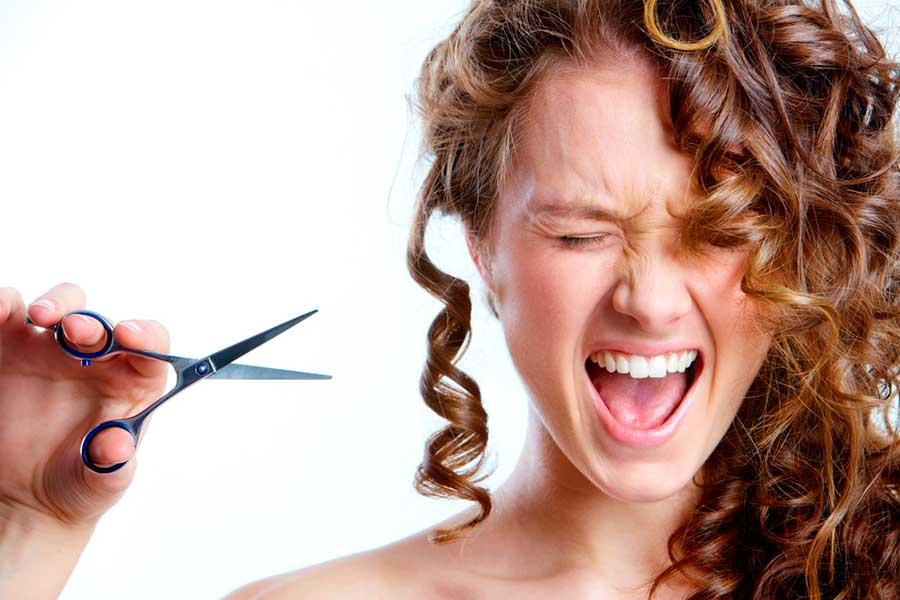Красивые стрижки на средние волосы - e