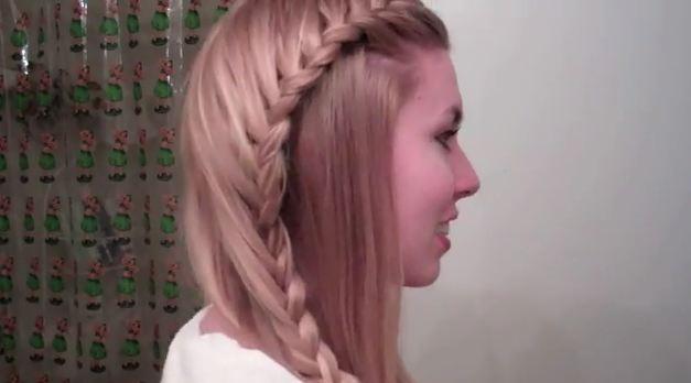 Свадебная прическа греческая коса 50