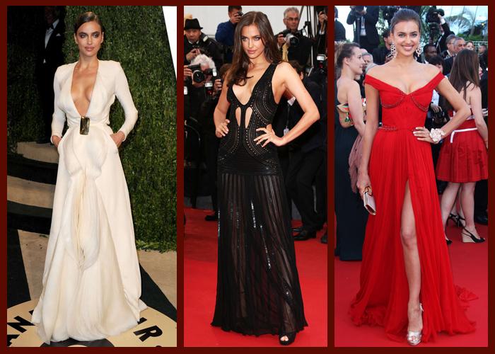 Платья в пол знаменитостей