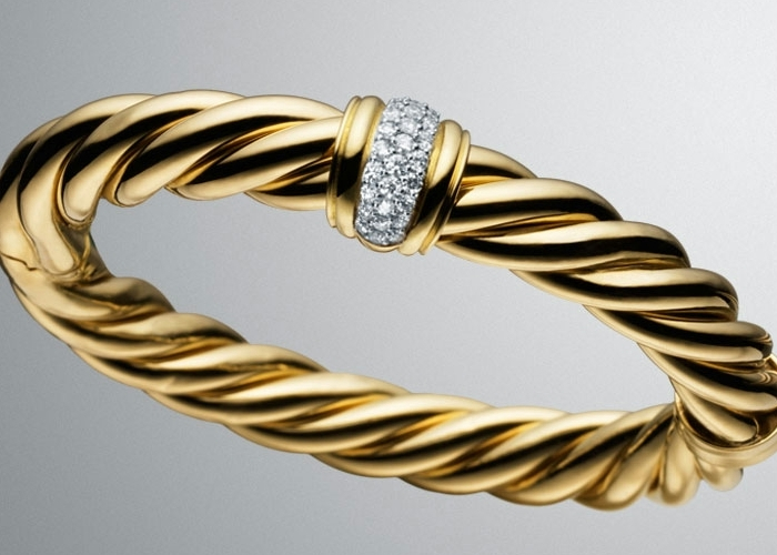 18-karat-yellow-gold-Cable-bracelet