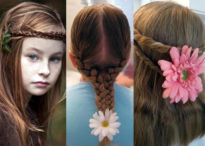 Как красиво заплести волосы девочке в домашних условиях