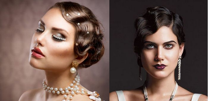Modern retro hairstyles