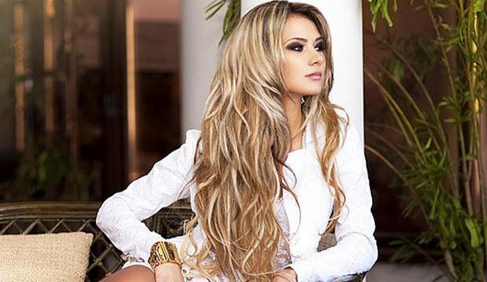 Блондинки фото красивые волосы