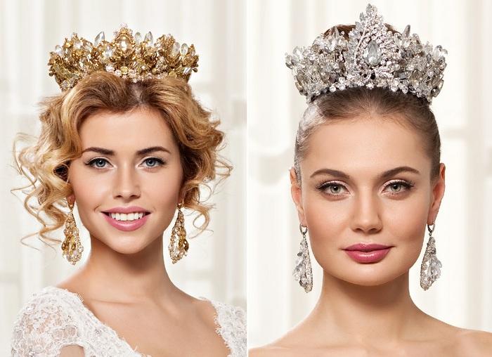 Как сделать свадебные короны