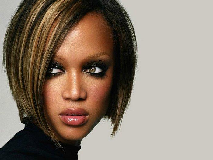 Цвет волос для карих глаз и смуглой кожи короткая стрижка