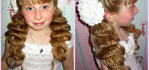 прически на 1 сентября для длинных волос фото