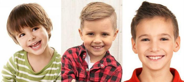 Фото детские стрижки мальчикам
