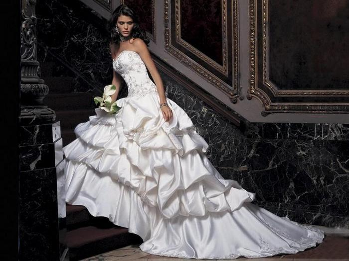 Фото свадебного платья от юдашкина